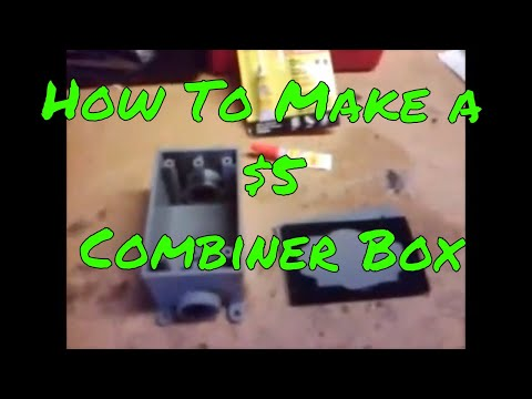 how-to-make-a-solar-combiner-box---retro-from-2008!!