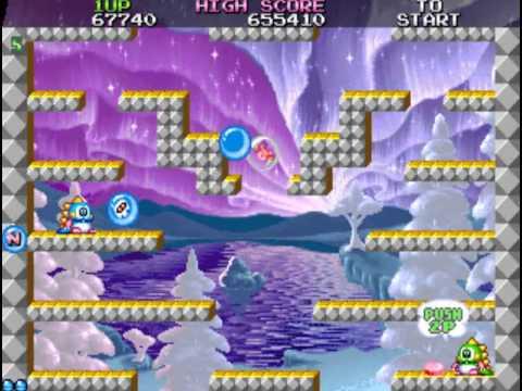 Bubble Bobble 2 Arcade Prototype (MAME 0.150)