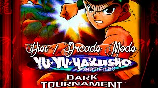 Yu Yu Hakusho: Dark Tournament - Hiei - Arcade Mode