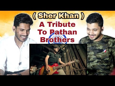 Indian Reaction On Sher Khan - Ahmad Siddiqui | Pathans Famous Song | M Bros
