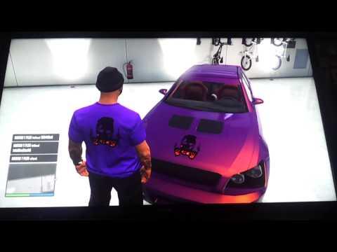 GTA 5 ONLINE NO BACK ROUND CREW EMBLEM