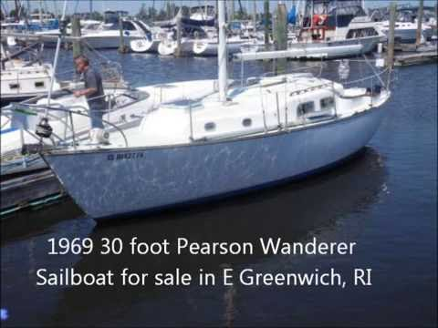 1969 30 foot Pearson Wanderer Sailboat For Sale in E
