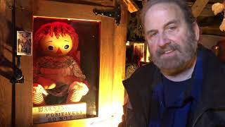 Big Announcement: Warrens Paracon on October 30, 2021 ANNABELLE