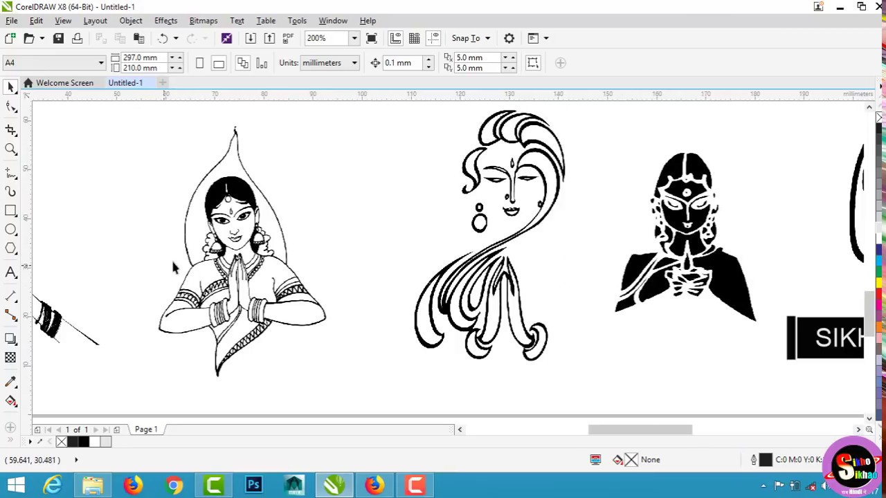 corel draw tutorials in hindi pdf