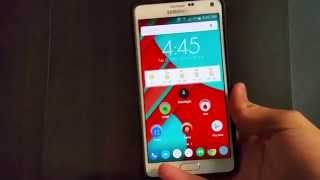 First Look At Official Android 5.0.1 Lollipop On The Galaxy Note 4!