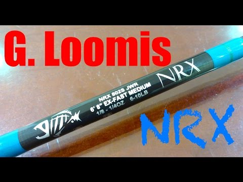 G. Loomis NRX Spinning Rod Review