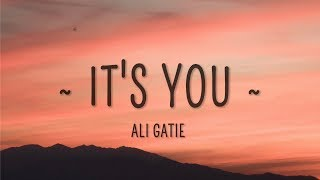 Ali Gatie - It's You (Lyrics) MP3