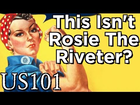 How Rosie The Riveter Became An American Feminist Icon - US 101