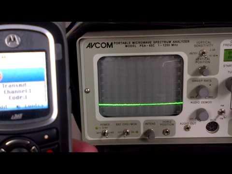 Nextel Direct Talk Spectrum Analyzer