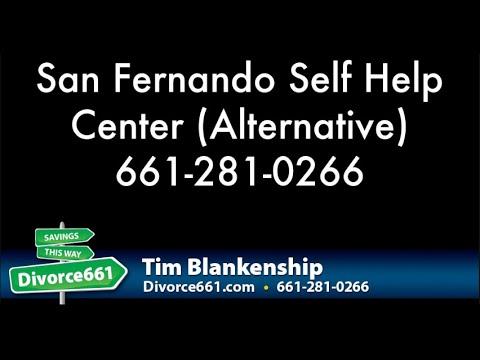San Fernando Divorce Court Self Help Center Alternative