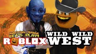 Roblox: WILD WEST Obby! [Annoying Orange Plays]