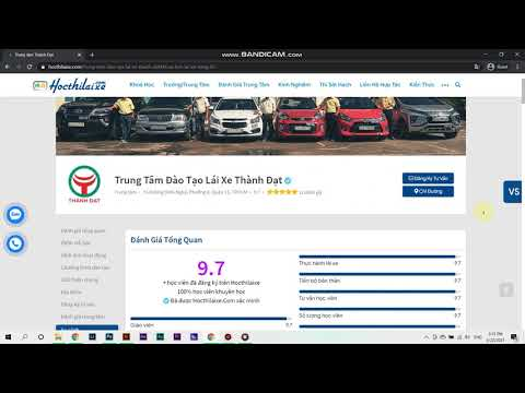 [hocthilaixe] Cách tìm kiếm trường/ trung tâm dạy bằng lái xe uy tín nhất trên học thi lái xe