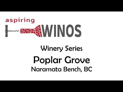 Visiting Poplar Grove Winery on the Naramata Bench in Penticton BC