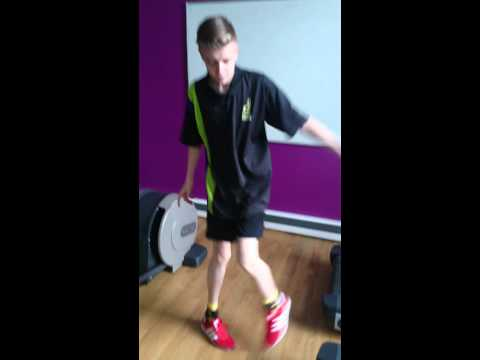 Denton Community College - Shuffling in the GYM - (Kyle Kemsley)