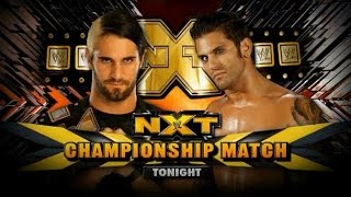 Seth Rollins vs Corey Graves (LumberJack Match) NXT