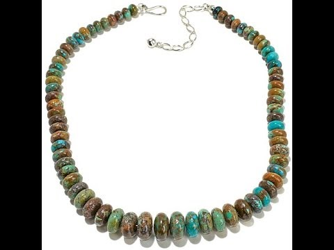 Jay King Ceremonial Turquoise Bead 181/4. http://bit.ly/2WW7q8O