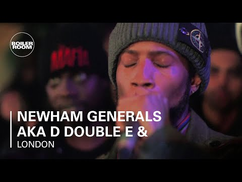 Newham Generals aka D Double E & Footsie Boiler Room  Set