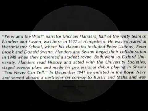 Peter and the Wolf / Michael Flanders, 1959:  Петя и волк - Prokofiev, Efrem Kurtz - Part 2
