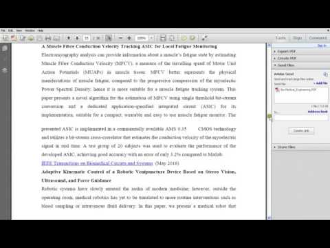 IEEE BIO MEDICAL ENGINEERING TOPICS - FINAL YEAR IEEE COMPUTER SCIENCE PROJECTS