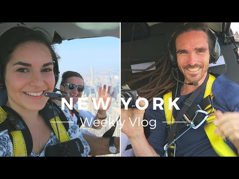Epic Helicopter Ride in NYC / Weekly Vlog