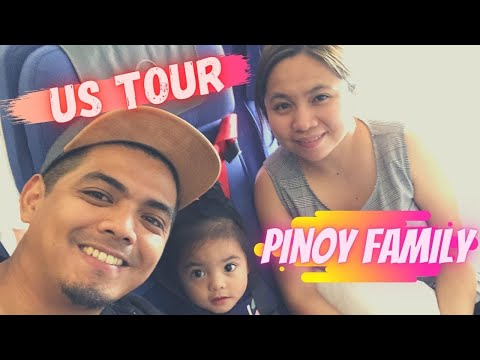 FILIPINO FAMILY TRAVEL IN U.S.A./ California Travel vlog part 1
