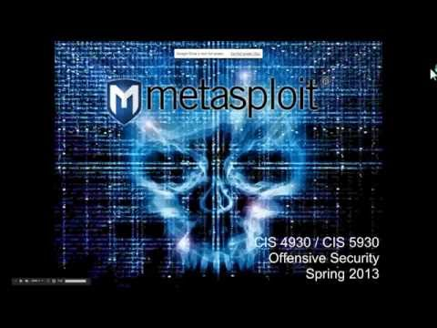 Introduction to Metasploit for Penetration Testing