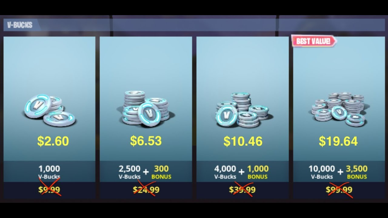 Fortnite V Bucks 80 Off Step By Step Instructions Argentina Not