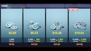 Fortnite V-Bucks 80% de rabais! Instructions étape par étape. Argentine PAS CLICKBAIT, JUST FACTS.