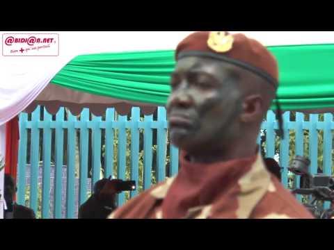Commémoration du 57e Anniversaire de la Cote d'ivoire/ Défilé des forces de défense et de sécurité