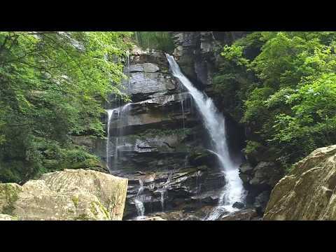 Bradley Falls near Saluda, NC