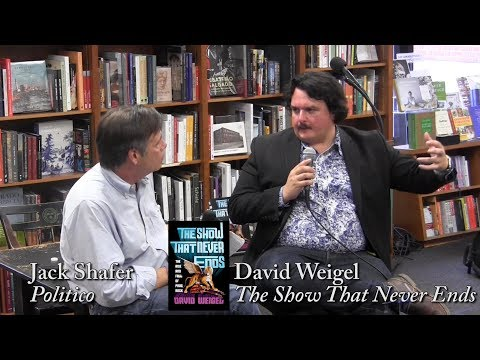 """David Weigel, """"The Show That Never Ends"""""""