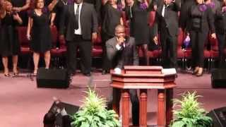 Rev Clinton McFarland Closing- Our First Service in OUR PLACE OF GRACE
