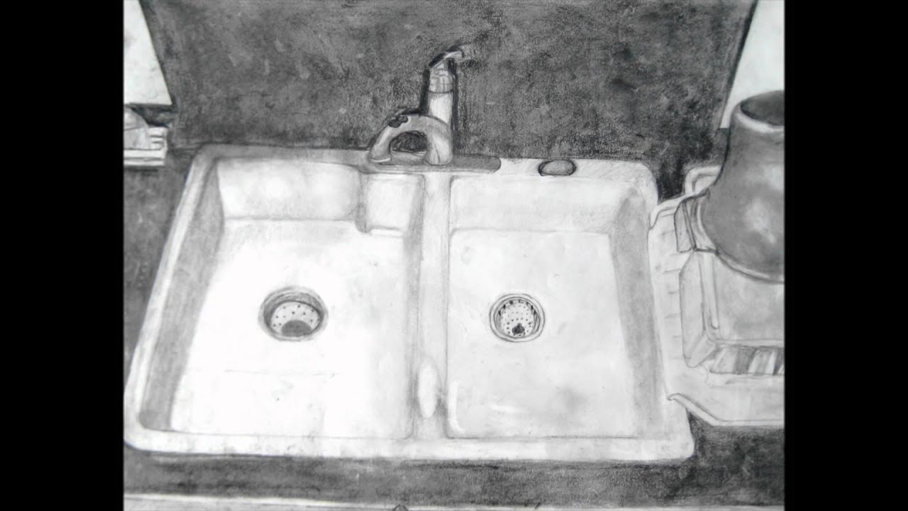 Bathroom sink drawing - Sink Drawing Fall 2011 Wmv