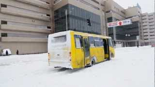видео Автобус Киев Днепр (Днепропетровск), маршрутка, пассажирские перевозки.