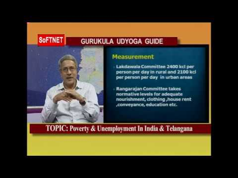 GURUKULAM || Poverty & unemployment in India & Telangana || INTERACTIVE SESSION With Shiva Reddy
