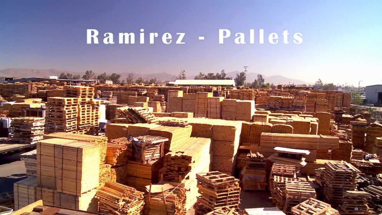 Wood Pallet Manufacturing - YouTube