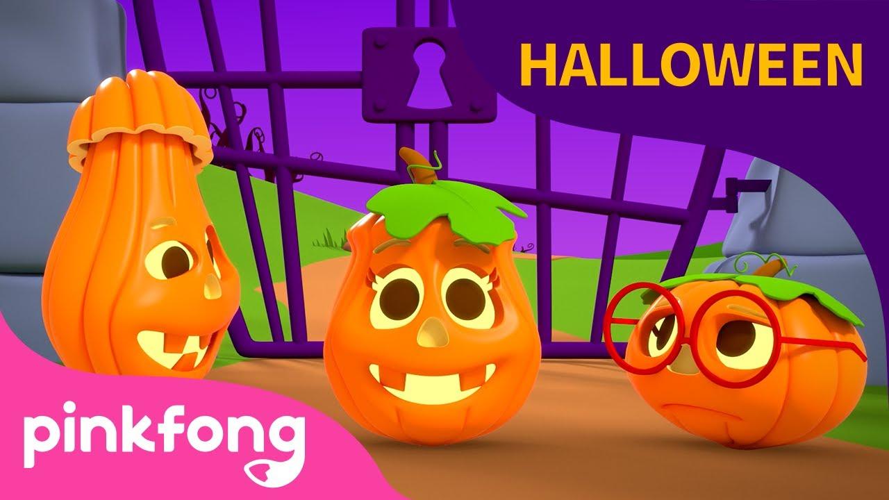 Cinco Pequeñas Calabazas | Canciones de Halloween | Pinkfong Canciones Infantiles