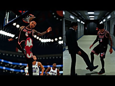 WHO HAS THE BETTER SHOES HANDSHAKE! TRIPLE DOUBLE IN THE FIRST HALF! - NBA 2K18 MyCAREER S2