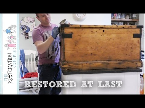 Restoring an Old Chest