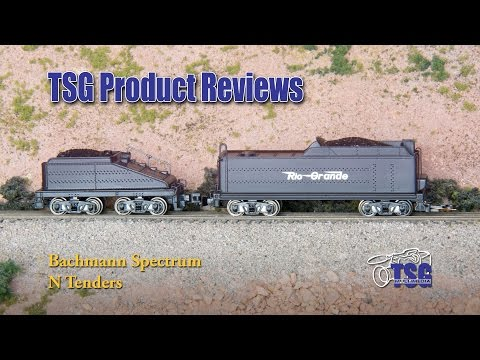 N Scale Tenders Bachmann Product Review