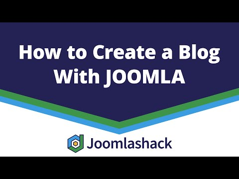 How to Create a Blog in Joomla thumbnail