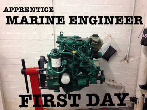 FIRST DAY!! - (Marine Engineering Apprenticeship)