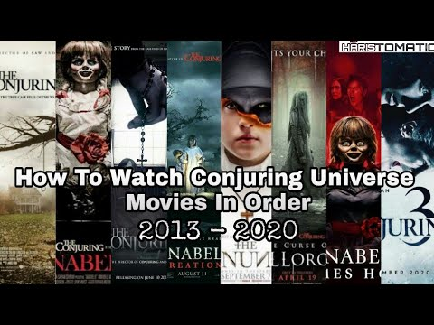 Download All Conjuring Universe Movies List In Order | 2013 - 2020 | Haristomatic