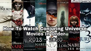 All Conjuring Universe Movies List In Order   2013 - 2020   Haristomatic