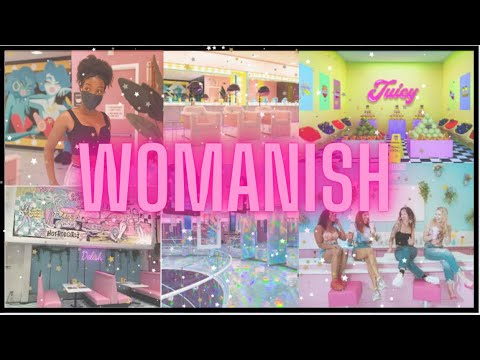 I Tried A POPUP MUSEUM L Womanish Experience Chicago VLOG L VALANDRIA