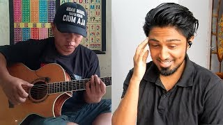 Arijit Singh Tum Hi Ho fingerstyle cover Alip_Ba_Ta REACTION