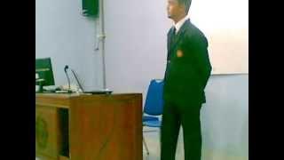Sidang Skripsi Latif Rusdi