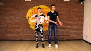 Бачата видео-урок от преподавателей школы кубаданса Пепо и Фидель (Челябинск)