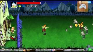 Прохождение игры - Кот и зомби война / Plants VS Zombie