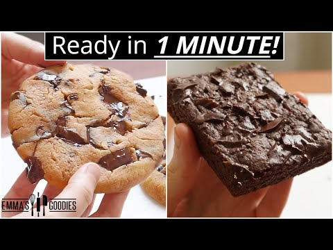 5 Recipes You Can Make In 1 MINUTE in the microwave!